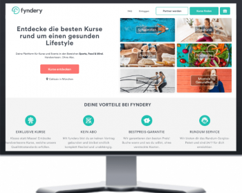 Fyndery - webseite