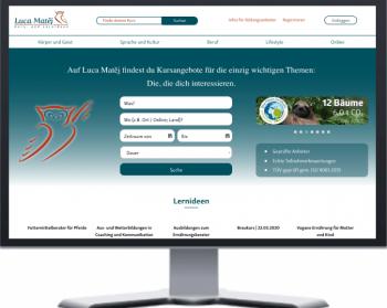 Luca matej - webseite
